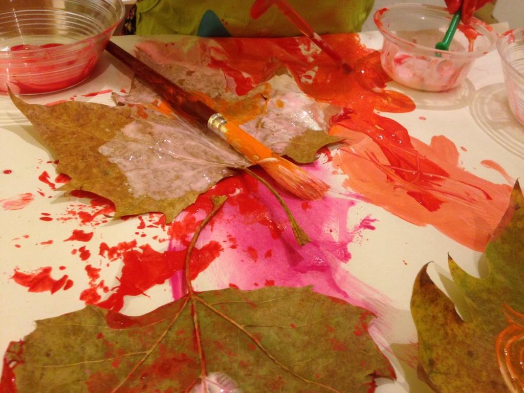 Messy play – Autumn fun cheat sheet