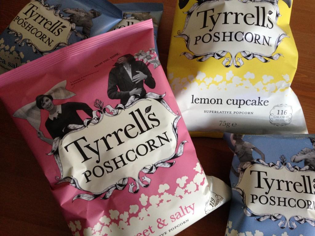 Christmas treats – Tyrrells poshcorn review