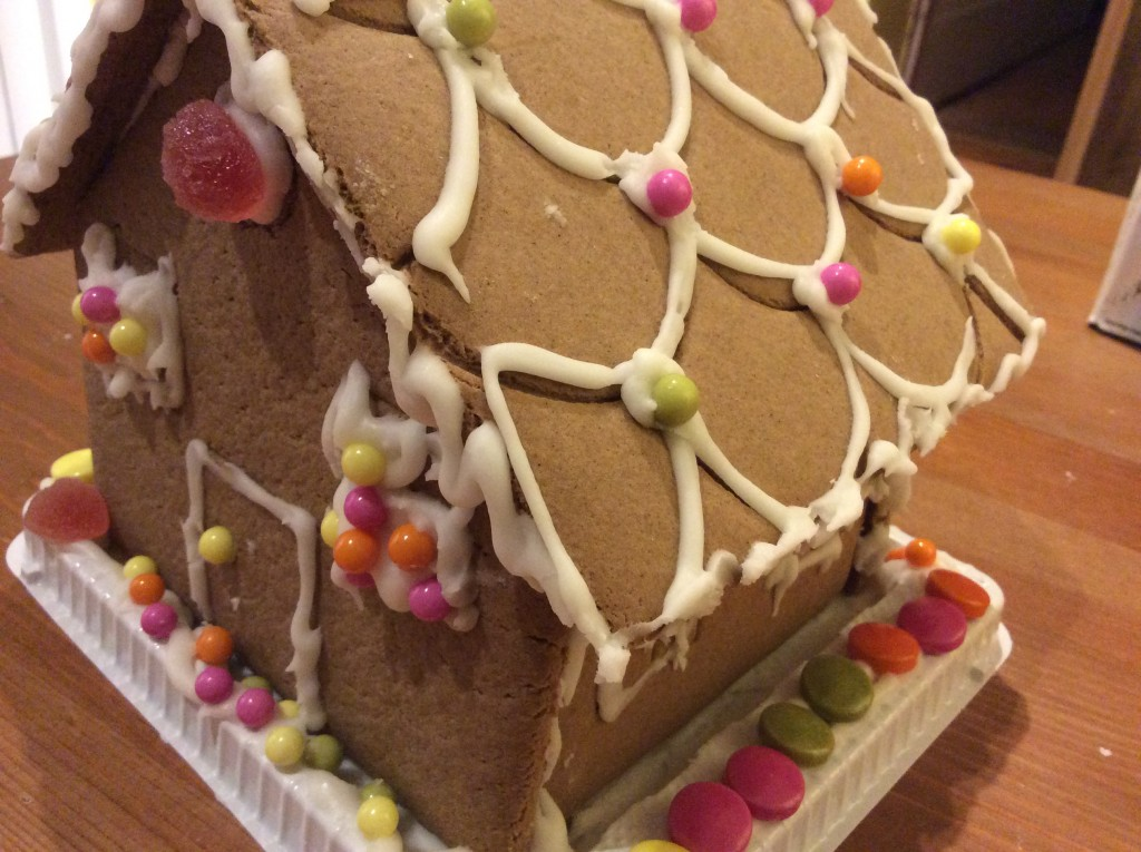 Keep them busy with a gingerbread house
