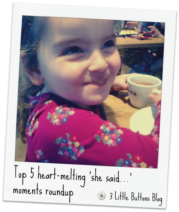 Top 5 heart-melting 'she said…' moments – December 2015 roundup