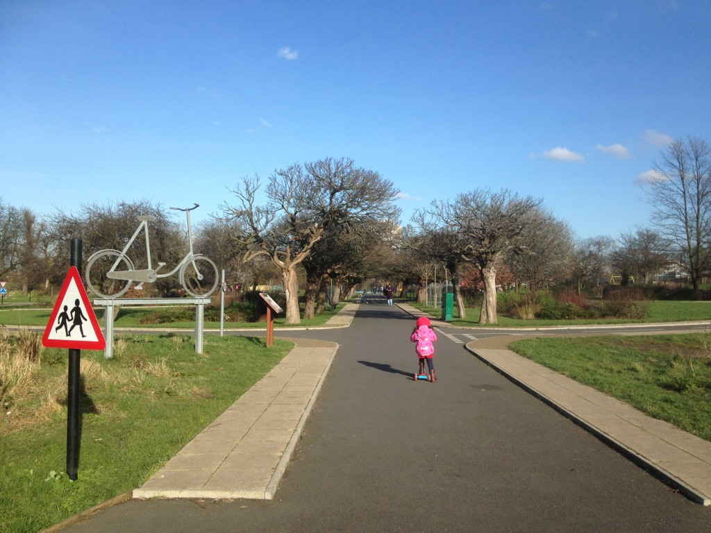 North London model traffic play area
