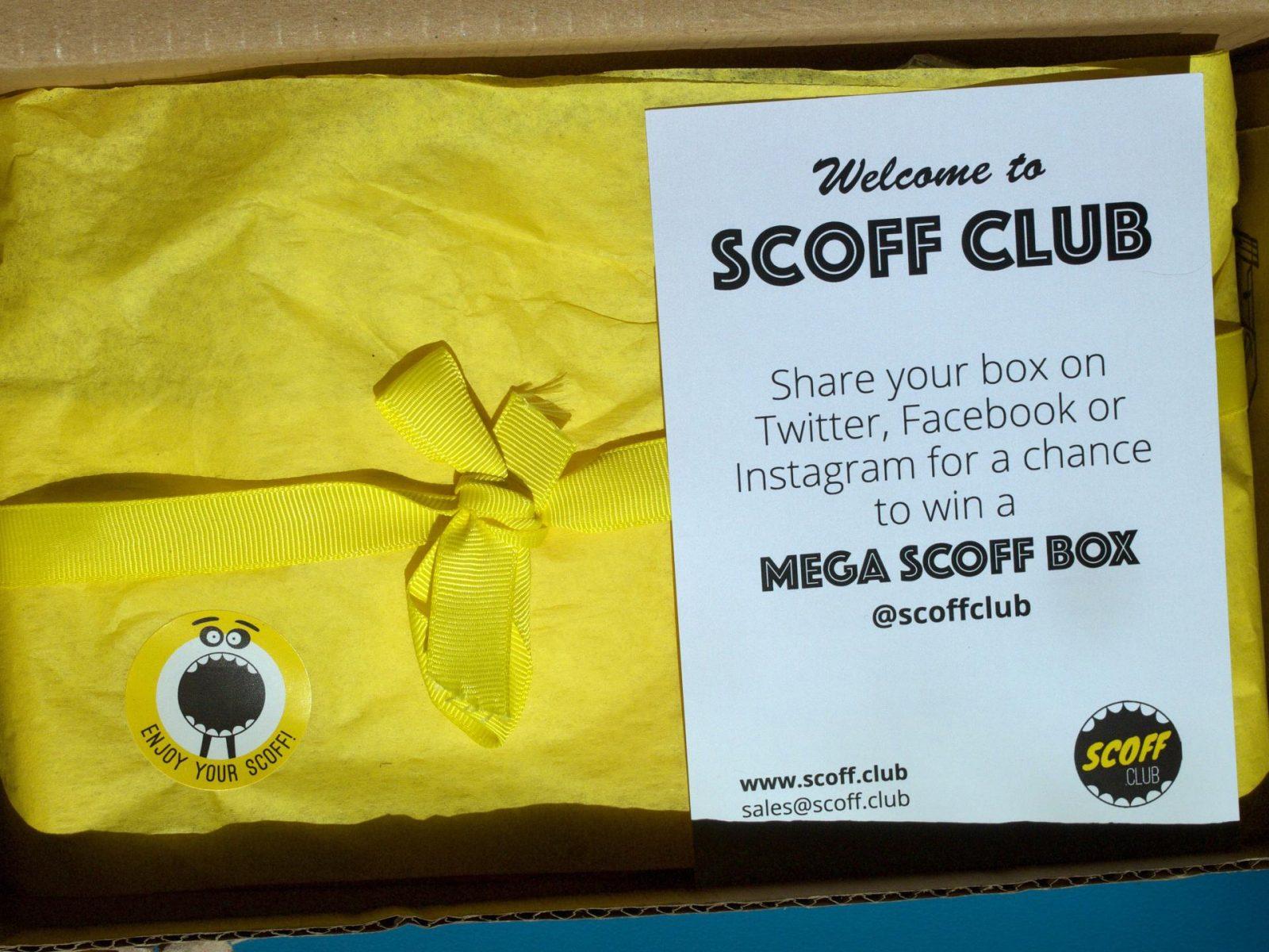 Scoff club review