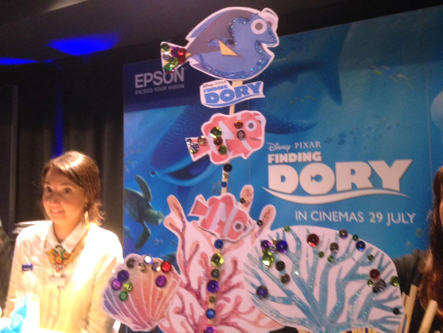#PrintingDory Event with Epson at the Disney Store in London