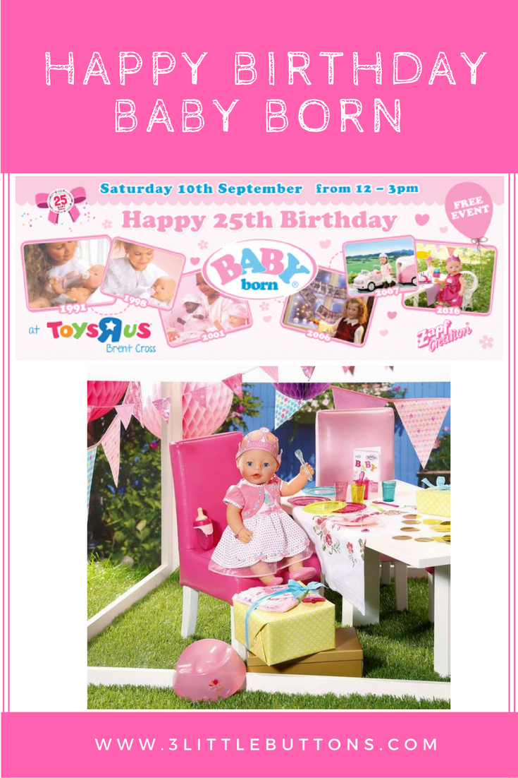 Toys R Us Birthday Party : Are you coming to baby born s th birthday party at toys