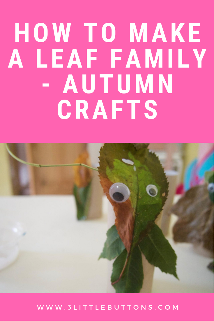 How to make a leaf family - Autumn crafts