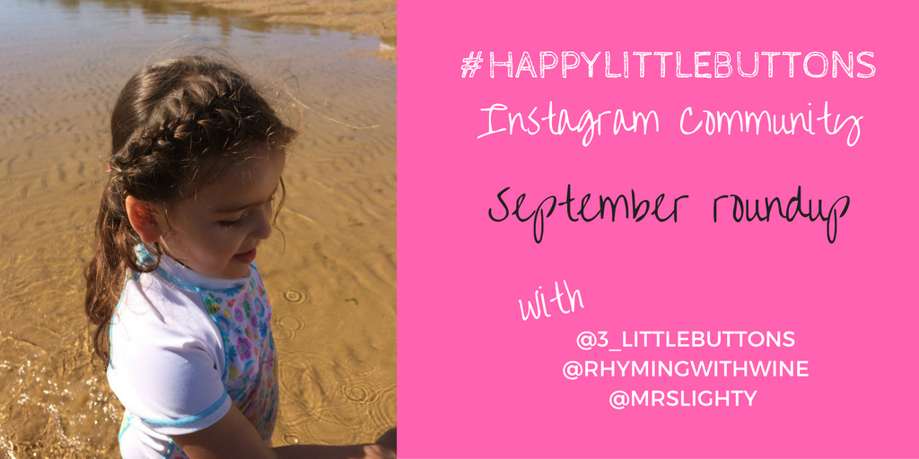 #HappyLittleButtons Instagram Community - September Roundup