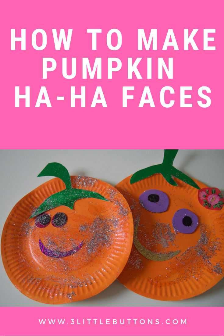 How to make Pumpkin Ha-Ha Faces
