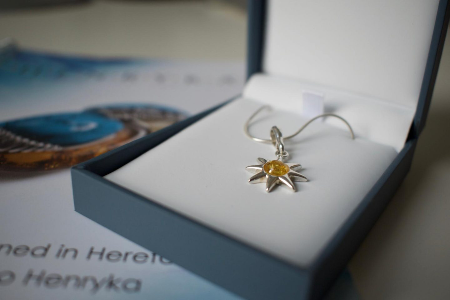 Sparkle With Henryka Jewellery 'Hope' Pendant
