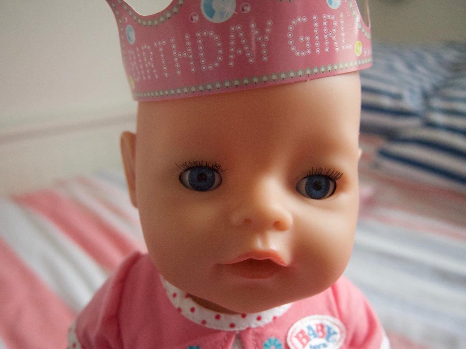 Happy Birthday BABY Born Doll