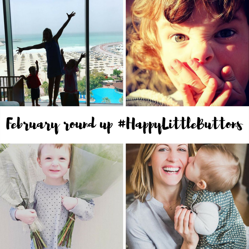 #HappyLittleButtons February 2017 Round-up