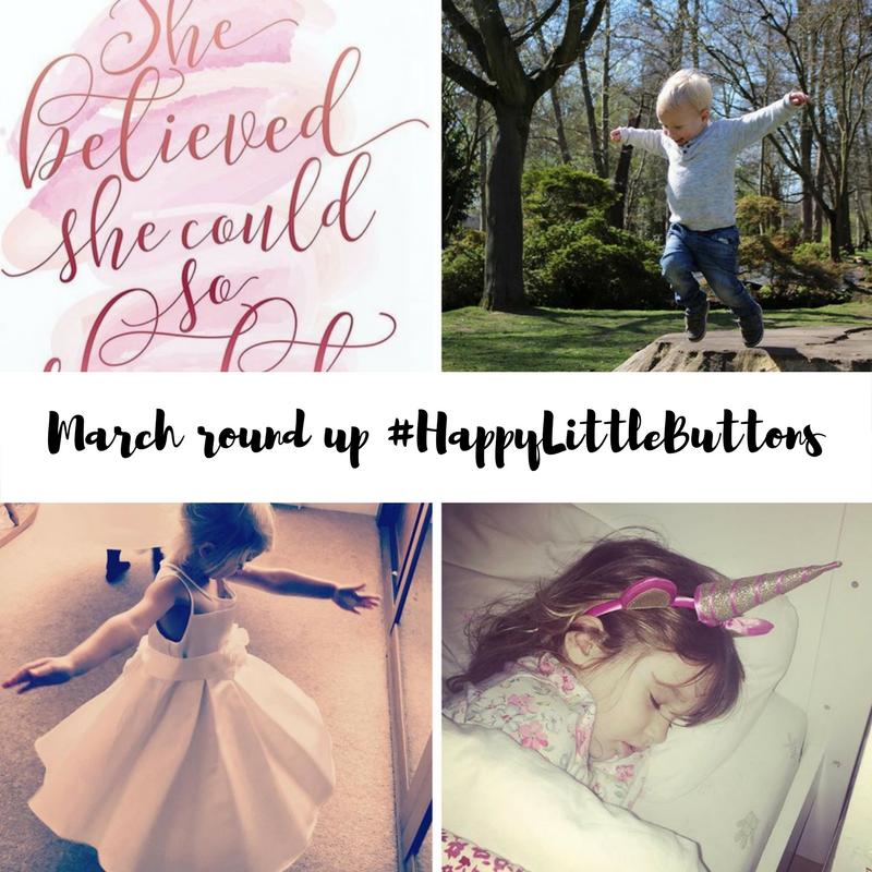 #HappyLittleButtons March 2017 Round-up
