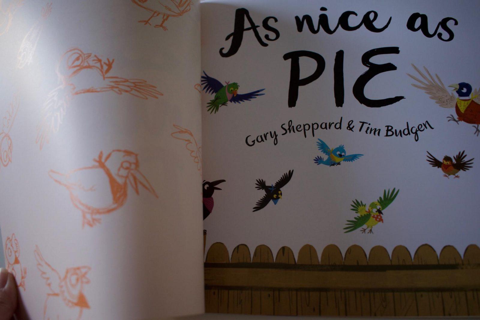 As Nice A Pie, Gary Sheppard