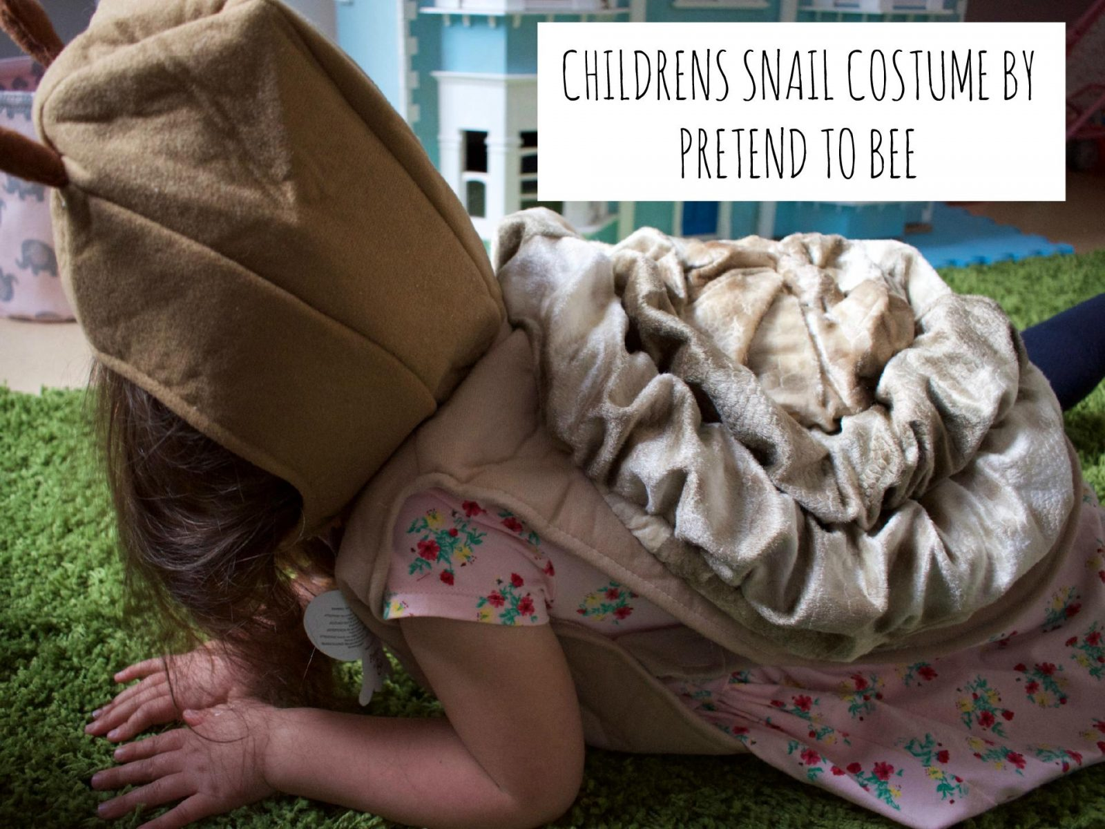 Dress Up As A Snail with Pretend To Bee