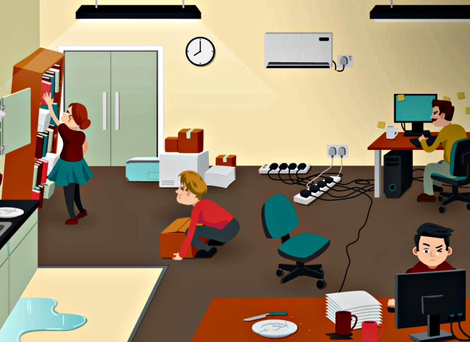 Office Hazard