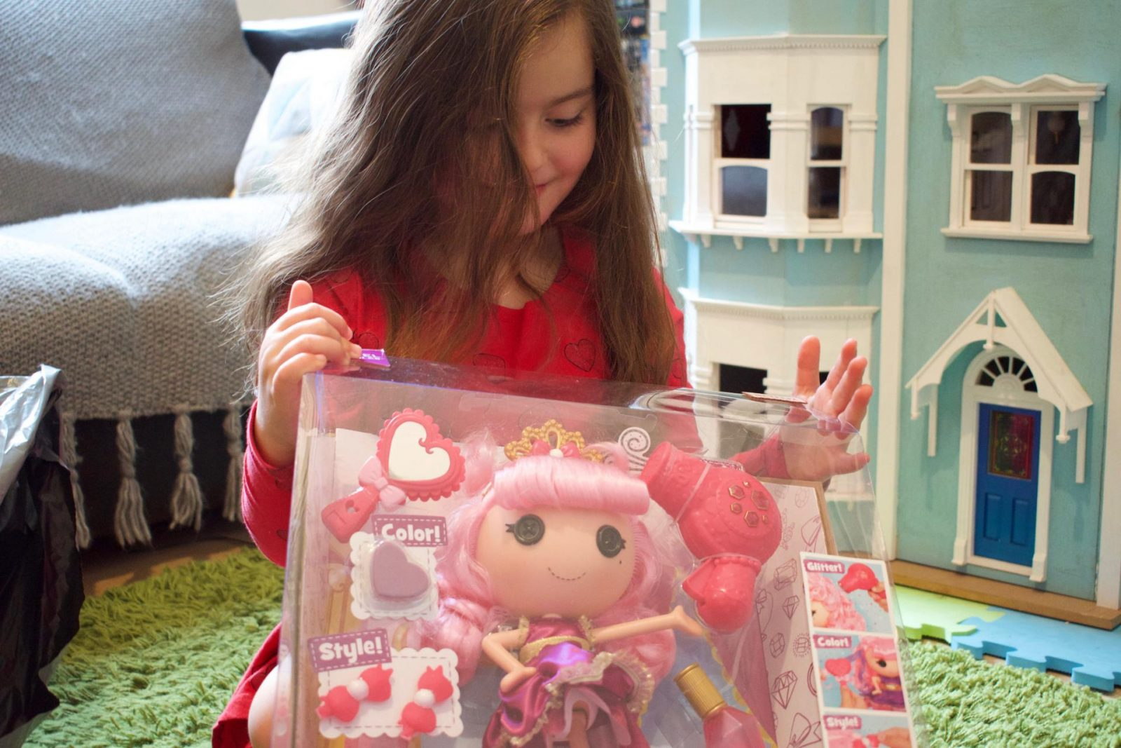 Lalaloopsy Jewel's Glitter Makeover Doll Review