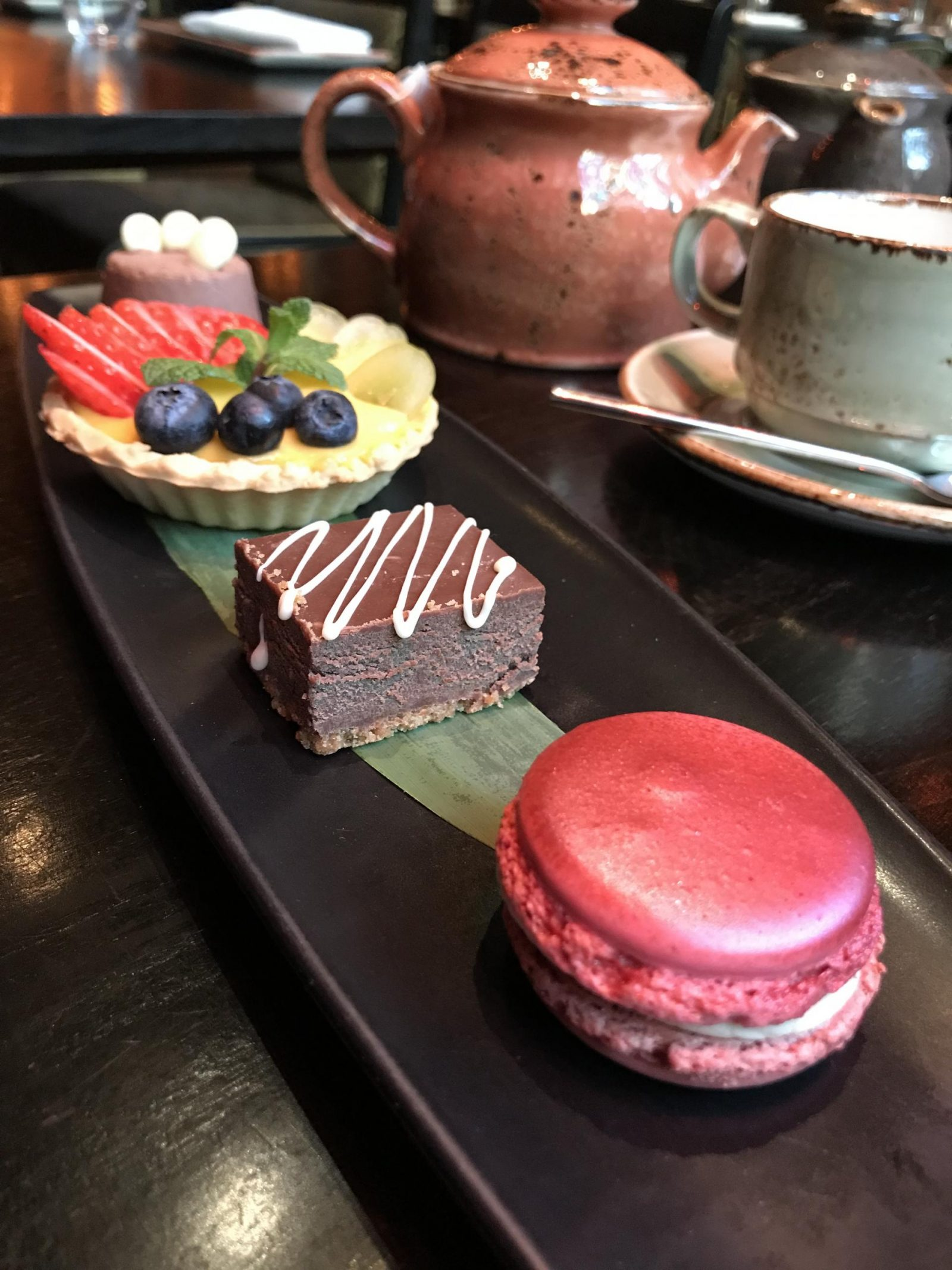 Afternoon Tea at the Buddha Bar, London