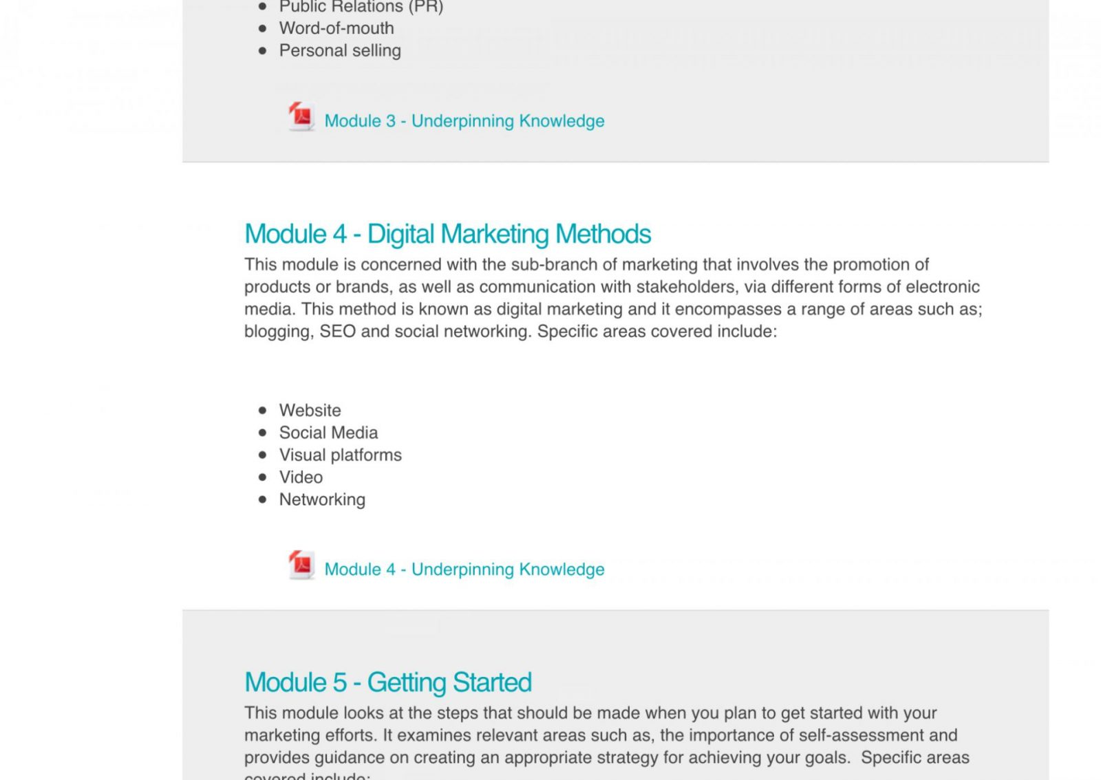 Online Marketing Courses with NCC Home Learning