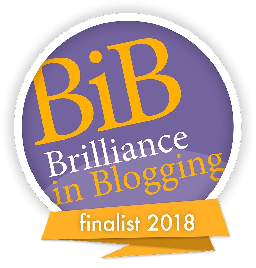 We are finalists in the BritMums Brilliance in Blogging Awards 2018 (#BiBs2018)- Thank you!!