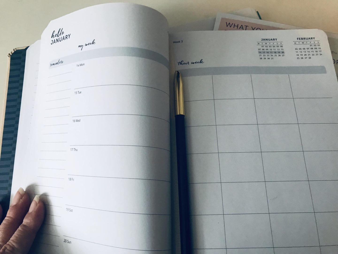 family diary 2019 from Busy B