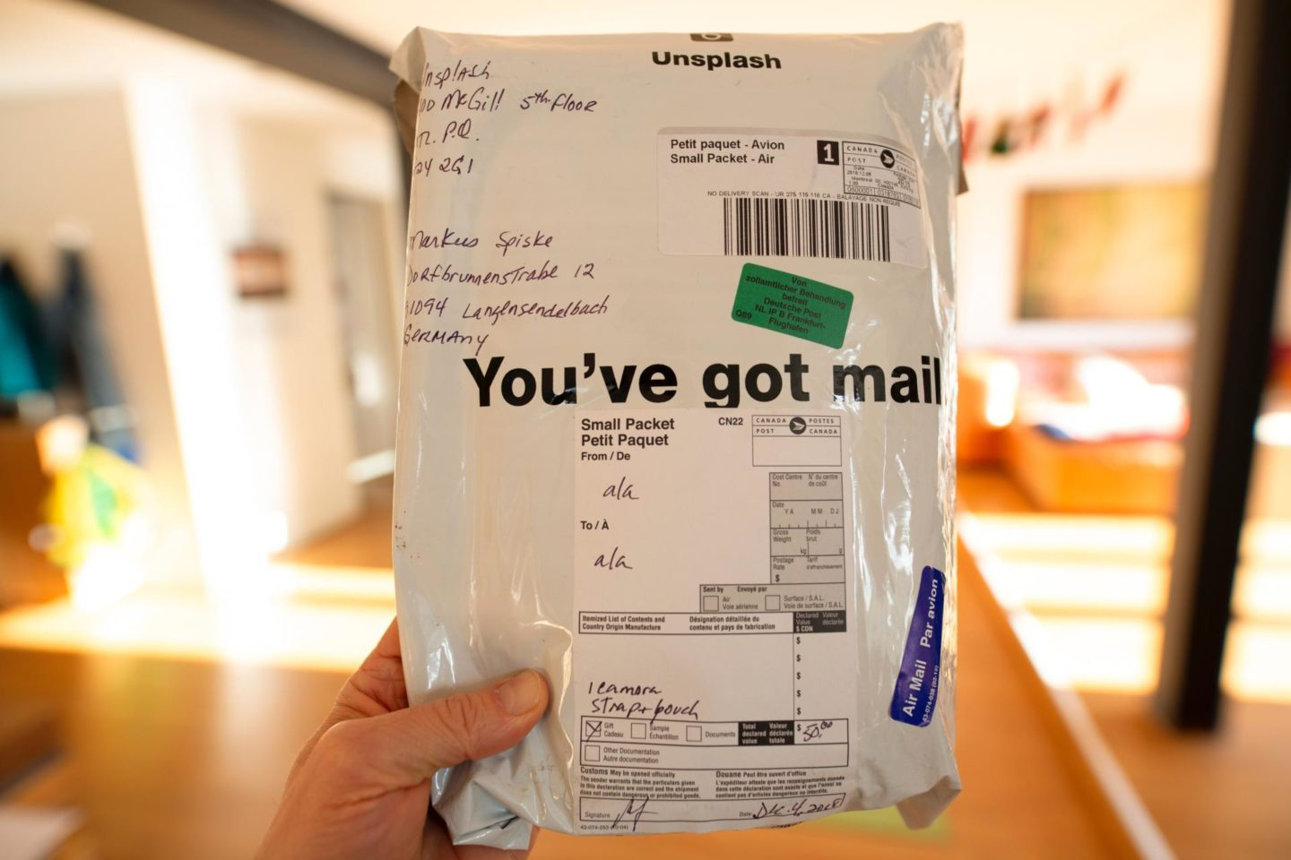 annoying things about parcel deliveries