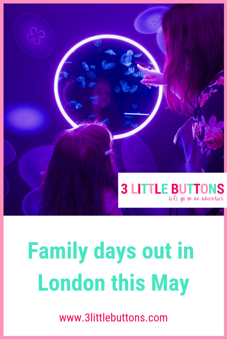 Family days out in London this May
