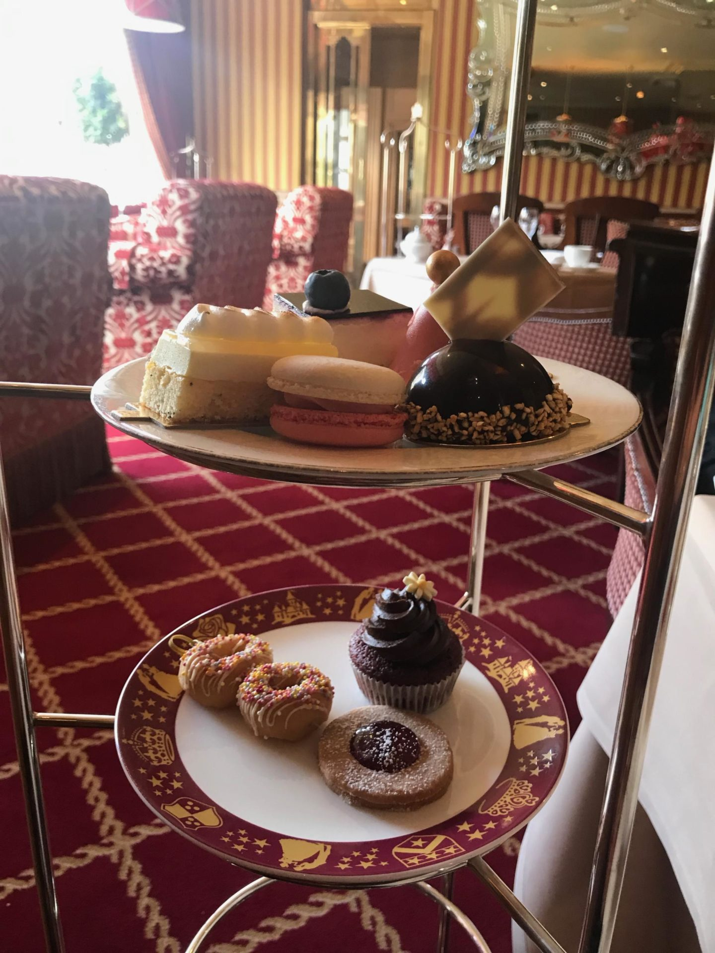 A Family Royal Afternoon Tea at The Rubens in London with Red Letter Days