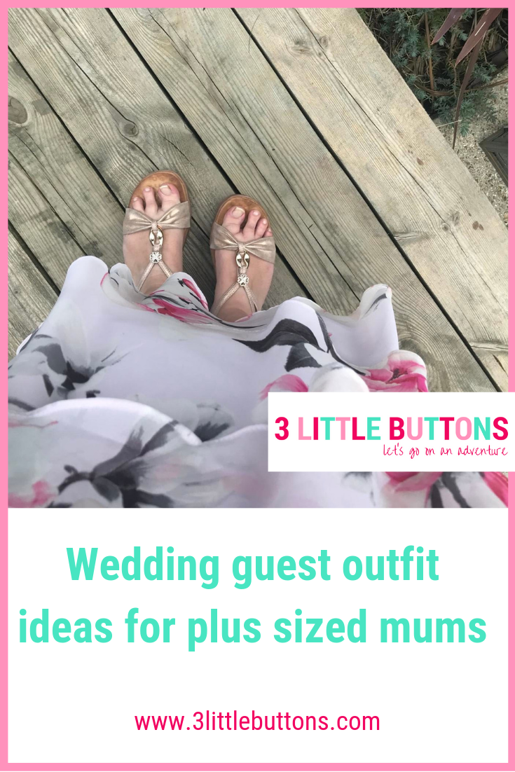 It's wedding season! Wedding guest outfit ideas for plus sized mums