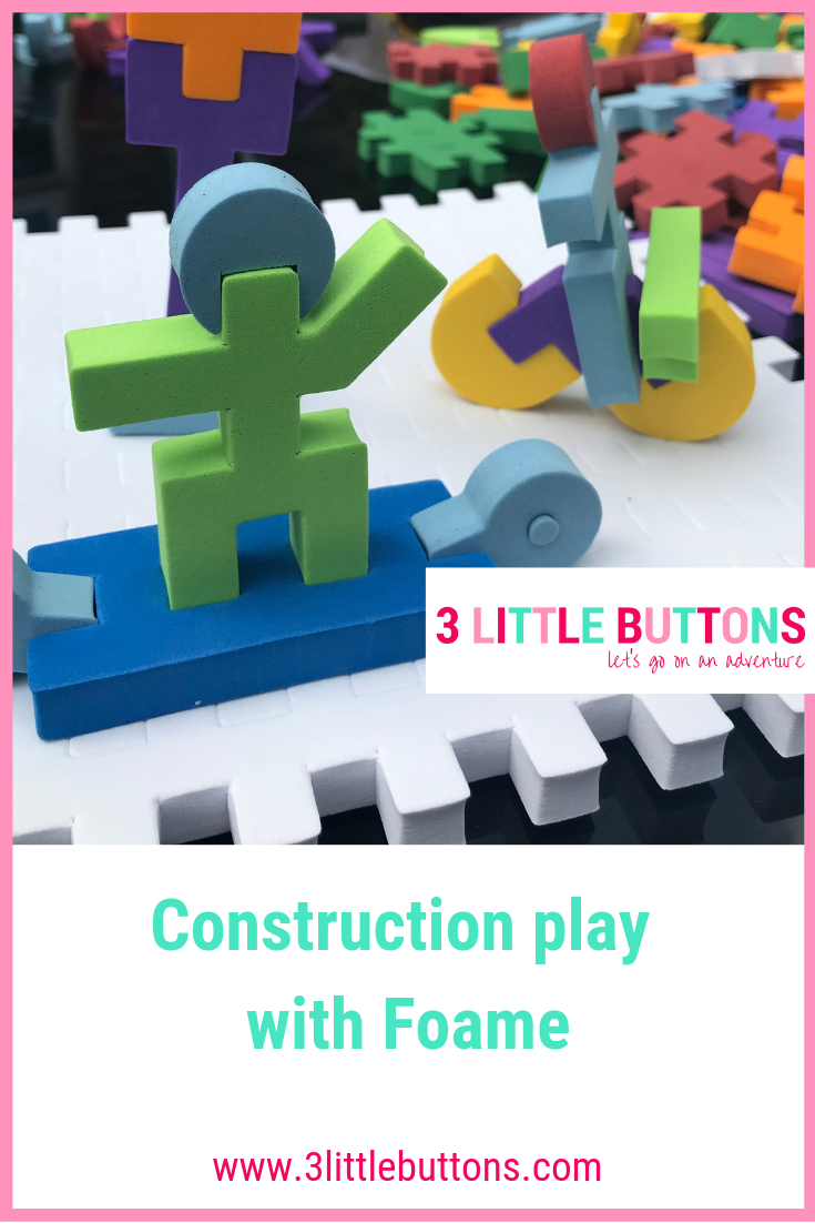 Construction play with Foame