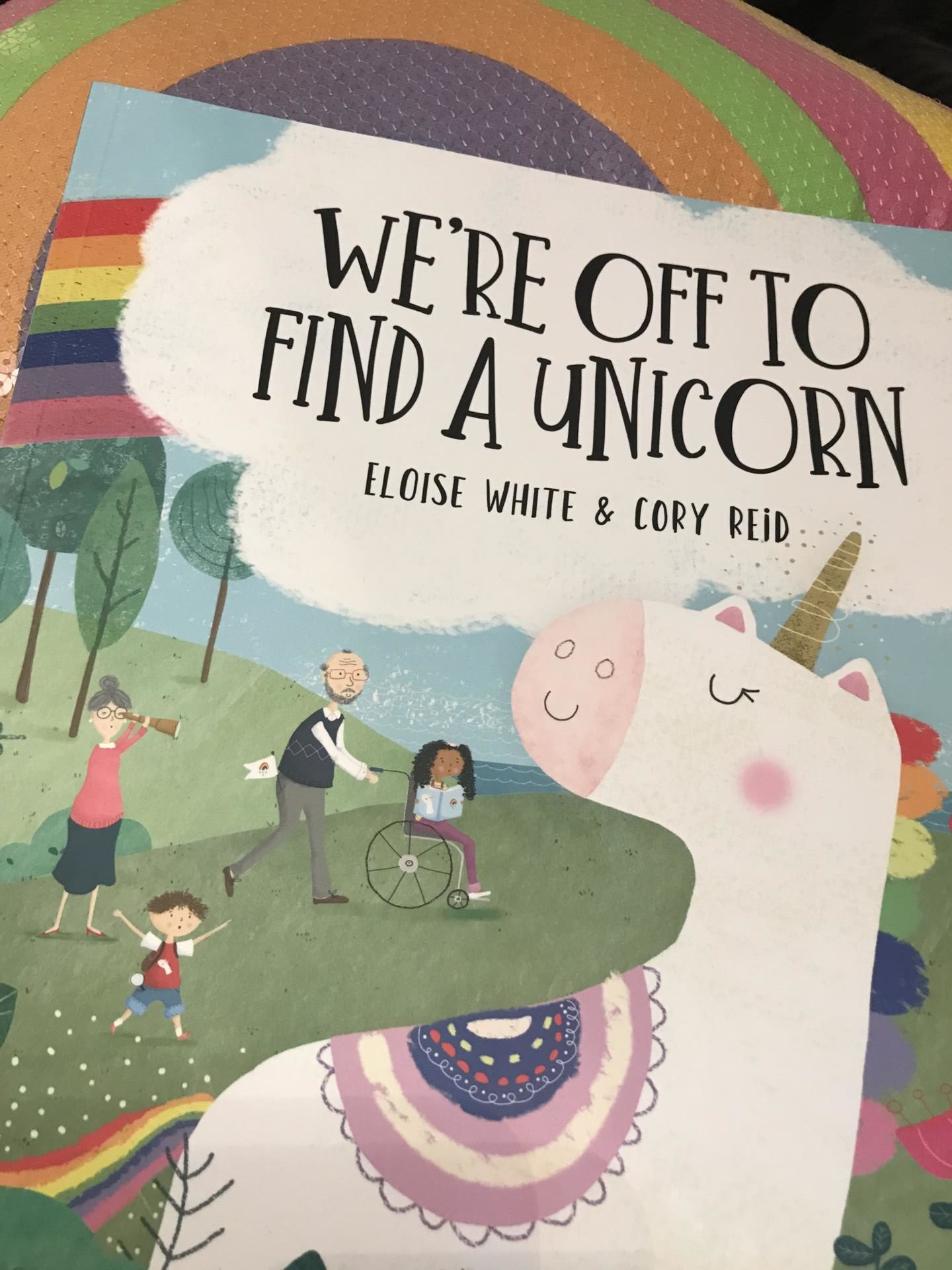 We're Off To Find A Unicorn – picture book review and meet the illustrator