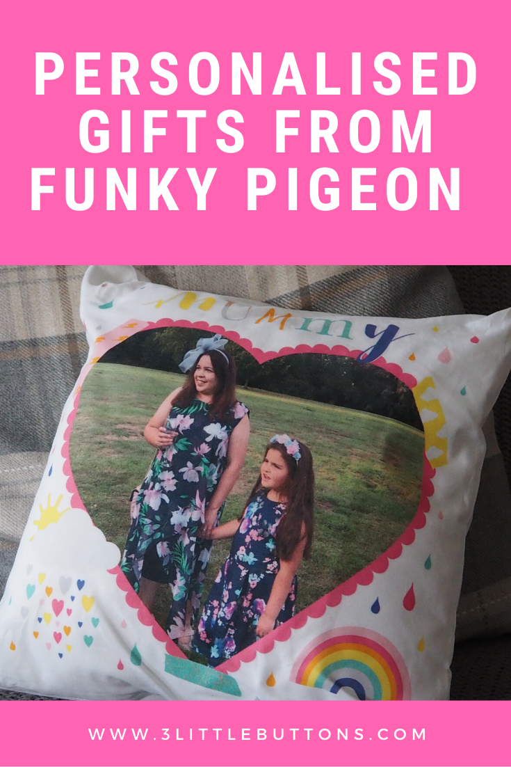 Personalised gifts from Funky Pigeon